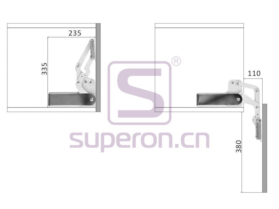 07-402-x2 | Vertical flap lift