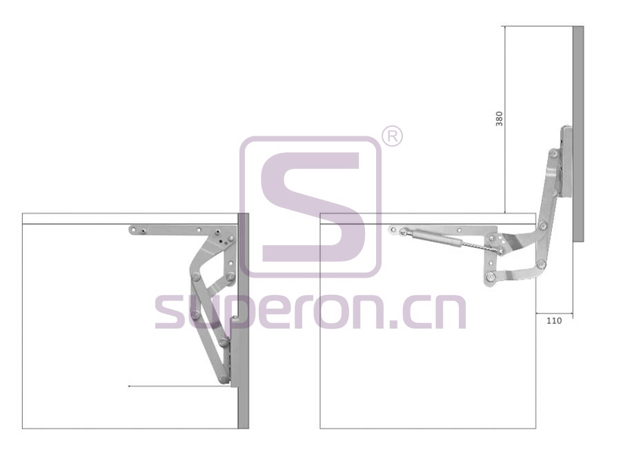 07-411-x2 | Vertical flap lift