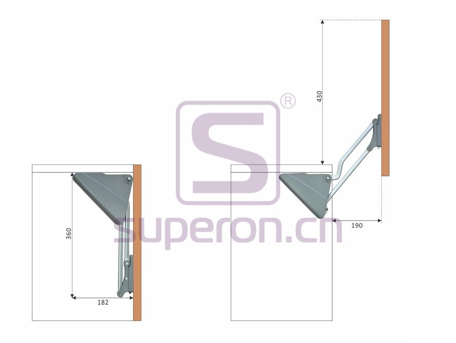 07-422-x1 | Vertical flap lift