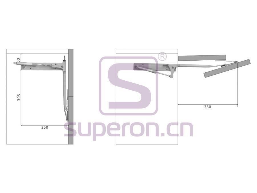07-423-x2 | Folding flap lift