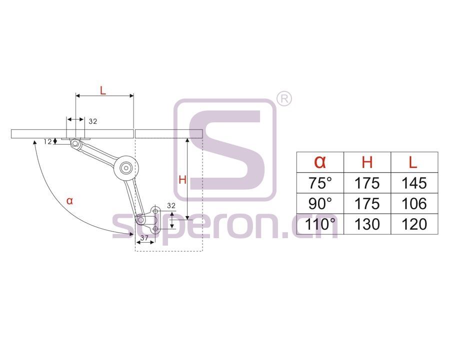 07-633-q   Mechanical bracket, 360°