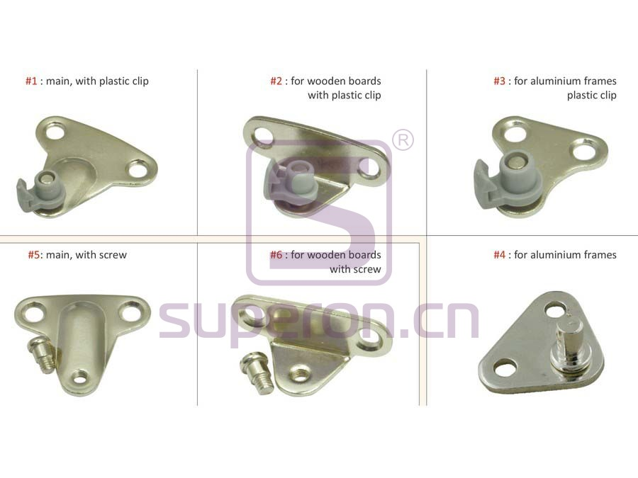 07-633-q1   Mechanical bracket, 360°