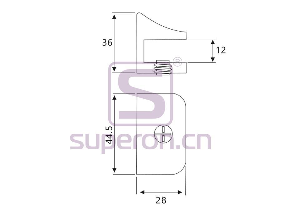 08-021-q | Glass holder