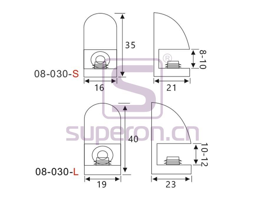 08-030-q | Shelf support