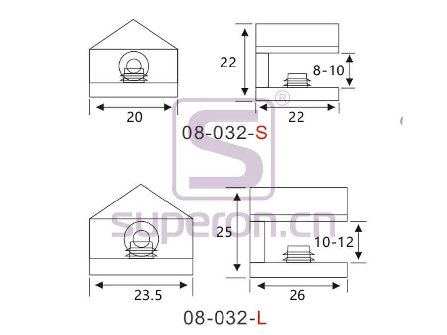 08-032-q | Shelf support