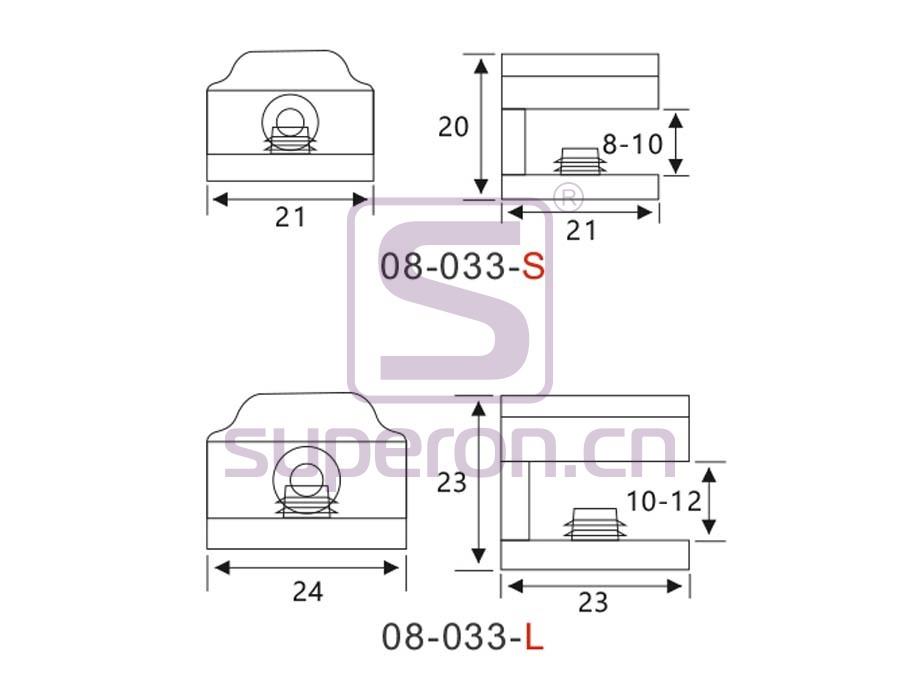 08-033-q | Shelf support