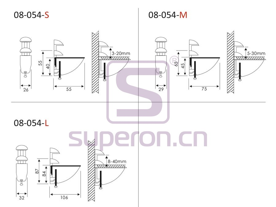 08-054-q | Pelican shelf support