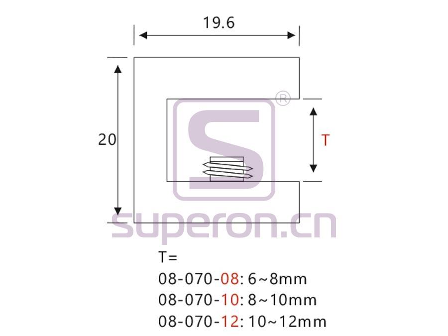 08-070-q | Glass holder
