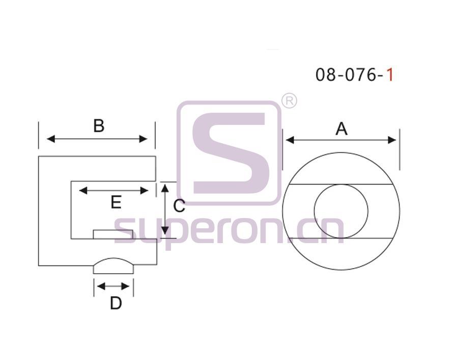 08-076-1-q | Shelf support