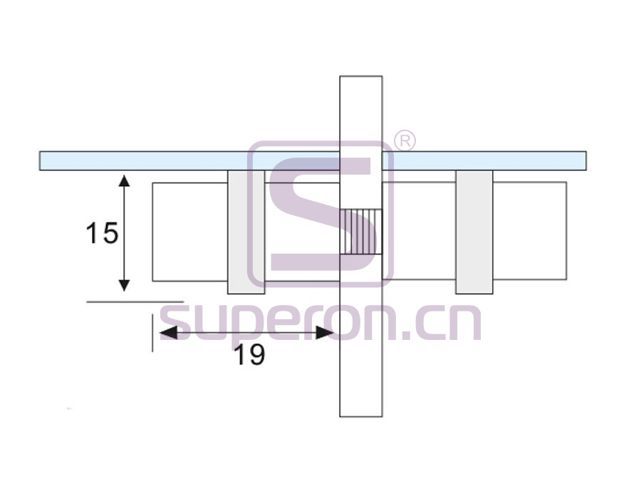 08-208-q   Glass holder