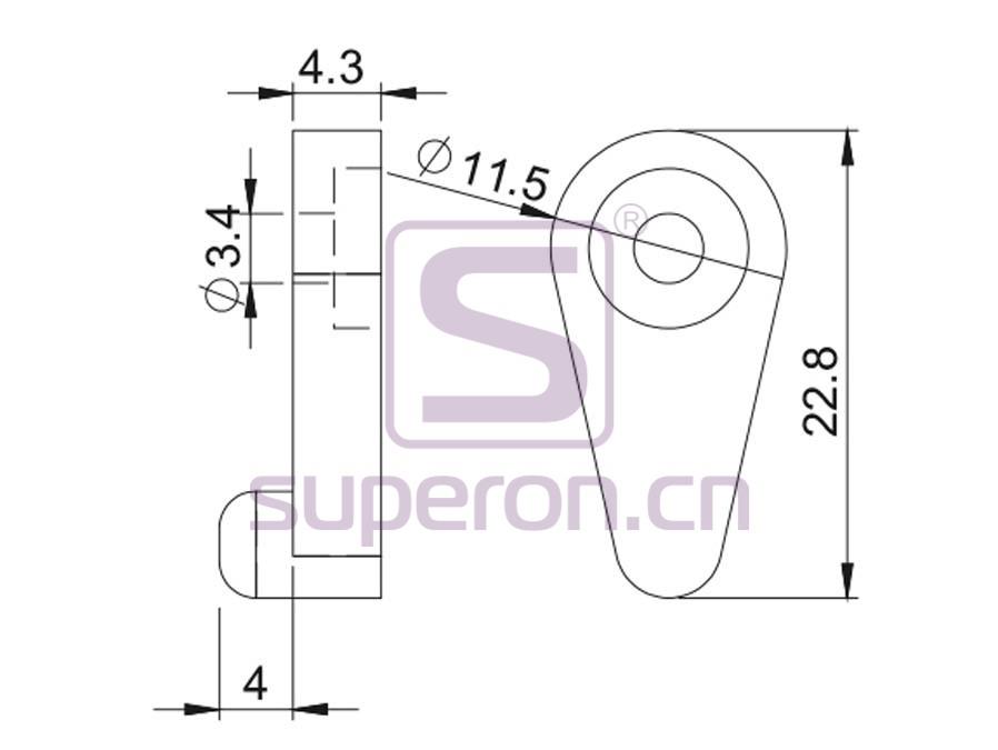 08-305-q | Glass holder