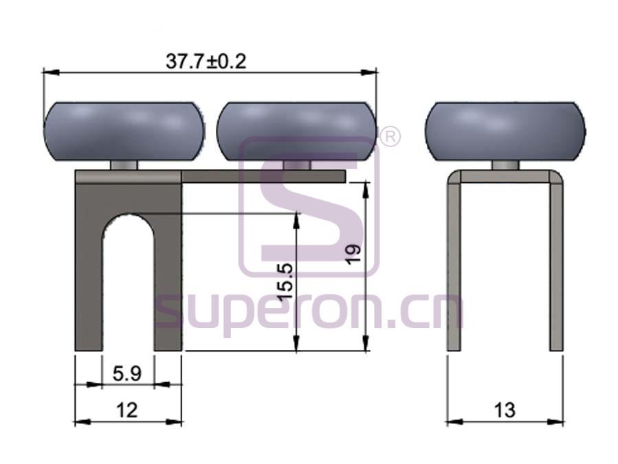 09-101-q | Roller system (asymmetric)