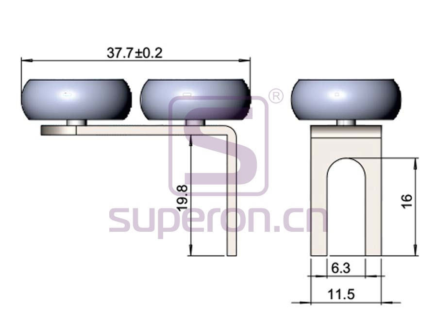 09-102-q | Roller system (L shaped)