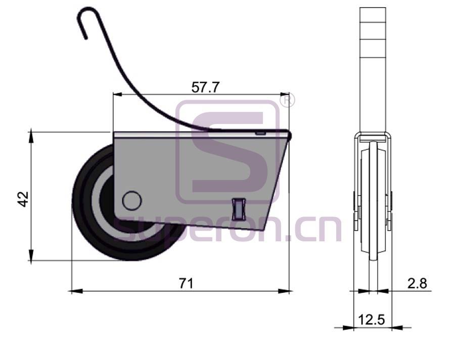 09-125-q   Roller system (asymmetric)