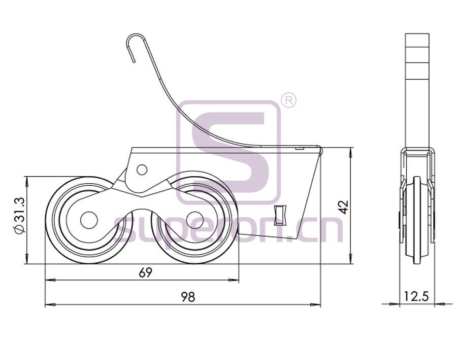 09-148-q | Roller system