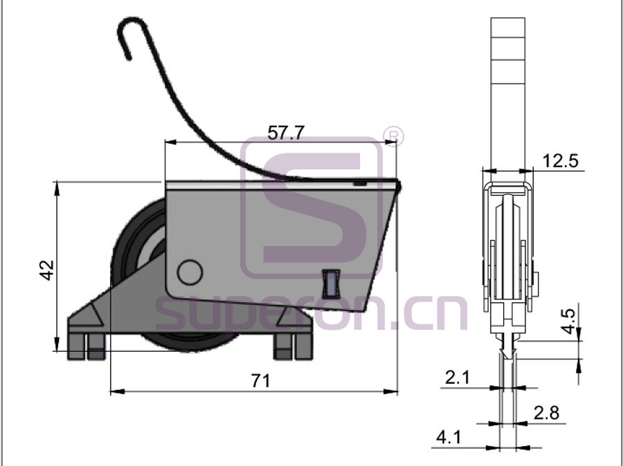 09-180-q | Roller system (symmetric)