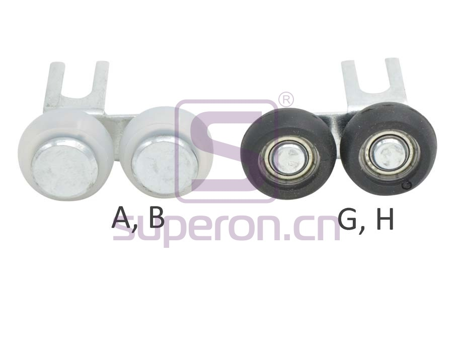 09-405-x2   Upper roller (asymmetric)