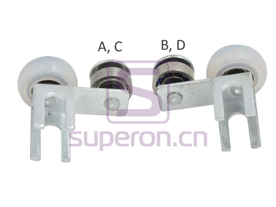 09-405-x3   Upper roller (asymmetric)