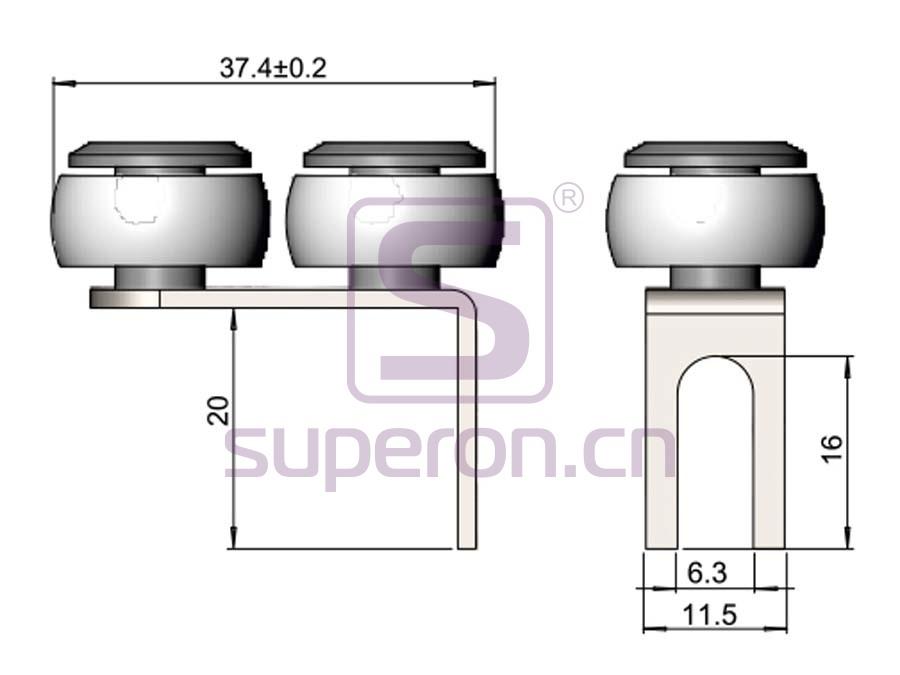 09-406-q | Upper roller