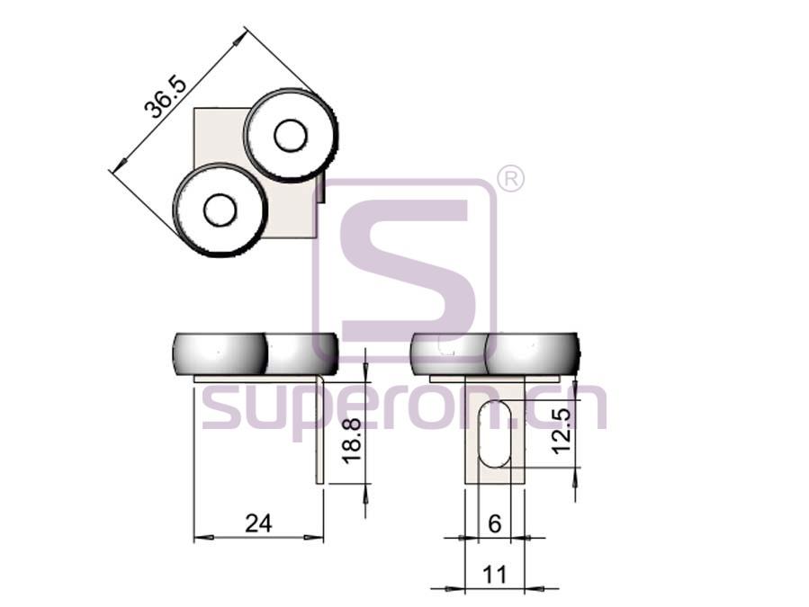 09-410-q | Upper roller