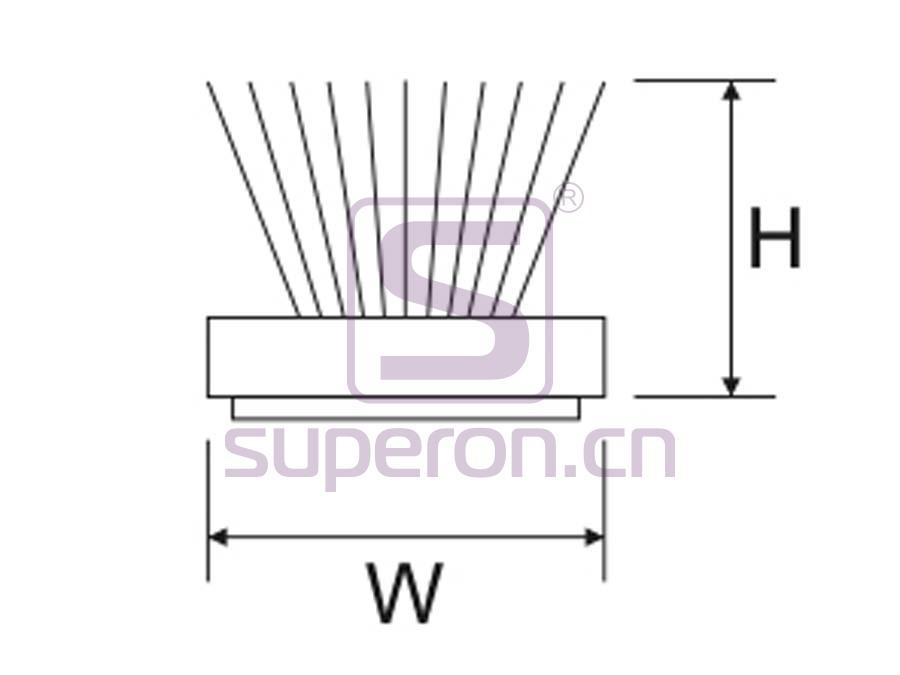 09-471-q | Pile weather strip (adhesive)