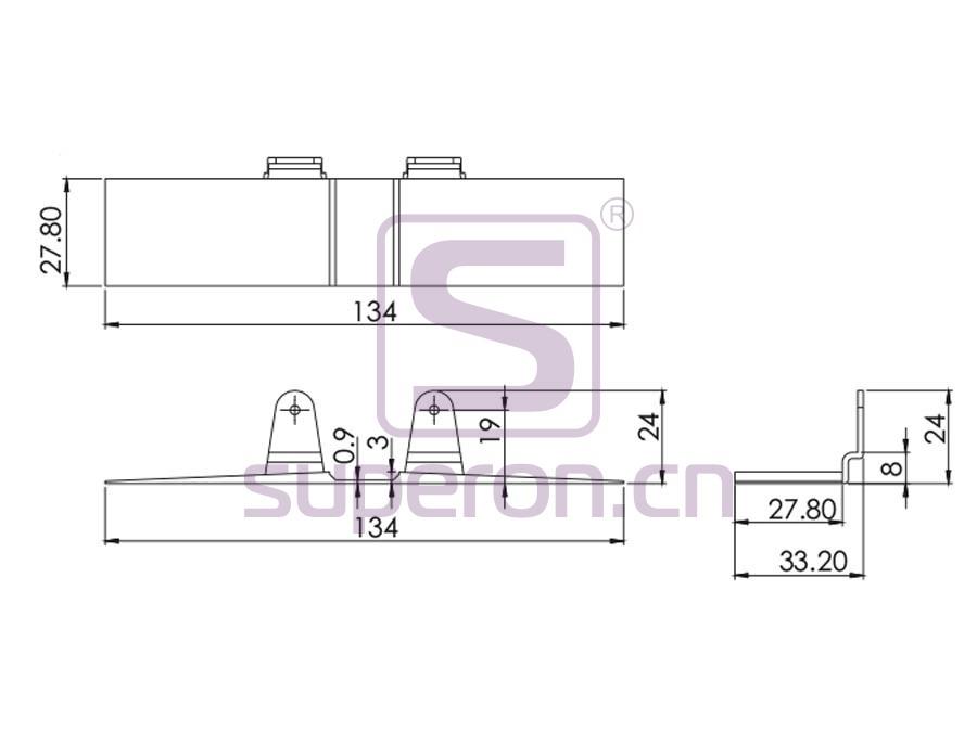 09-493-q   Positioner (plastic)