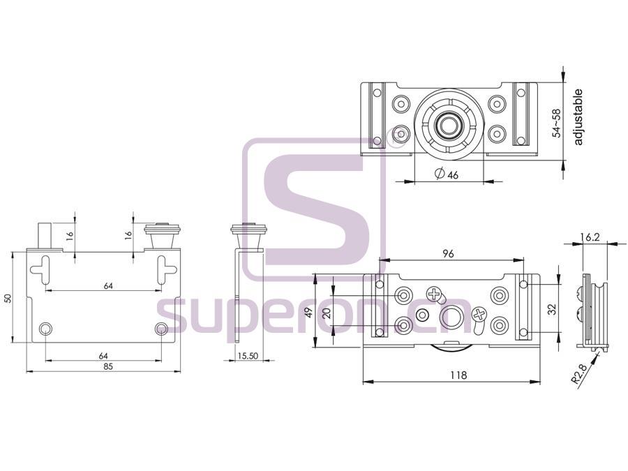 09-524-q | Roller system