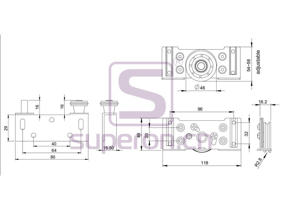 09-525-q   Roller system
