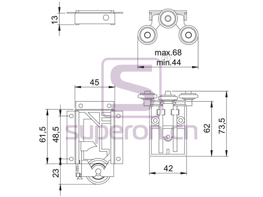 09-610-q | Roller system