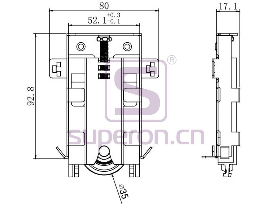 09-611-x | Roller system