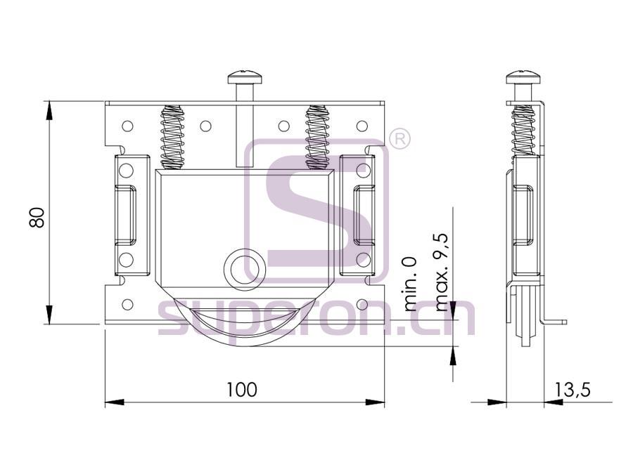 09-800-q | Roller system