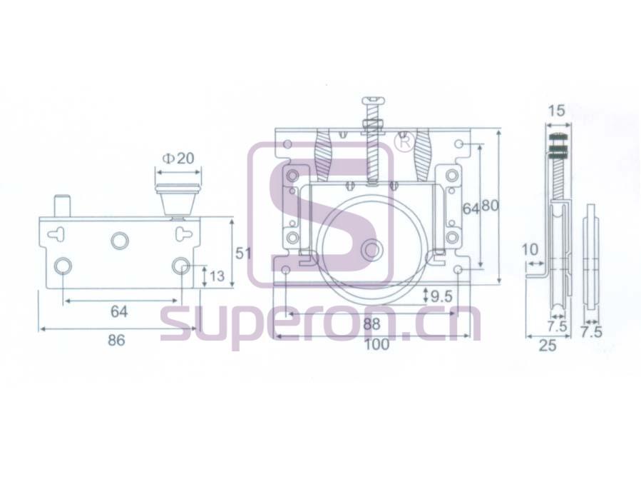 09-804-x | Roller system