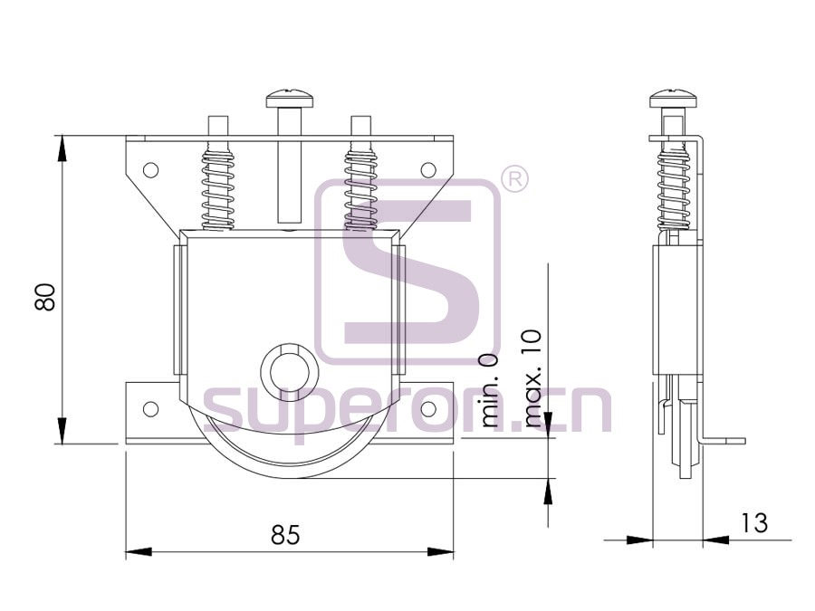 09-821-q | Roller system