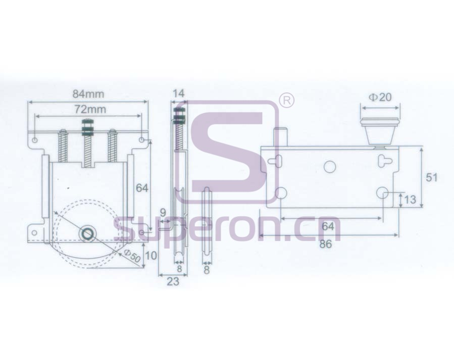 09-824-x | Roller system