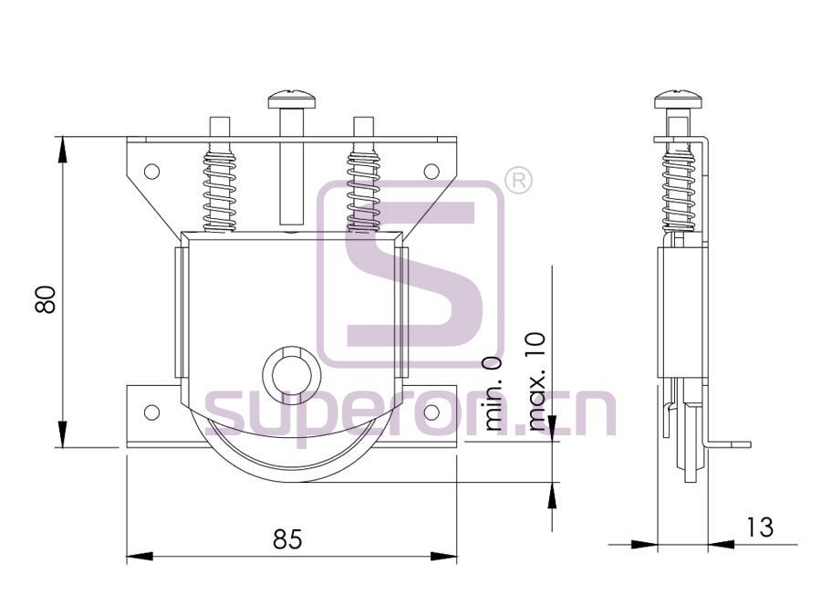09-825-q | Roller system