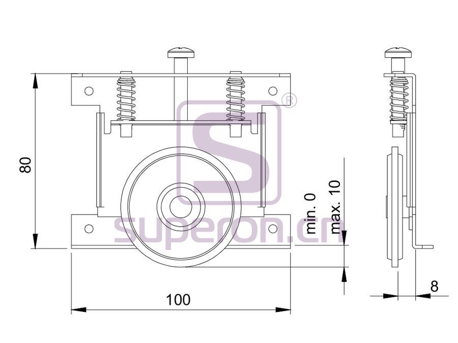 09-849-q | Roller system