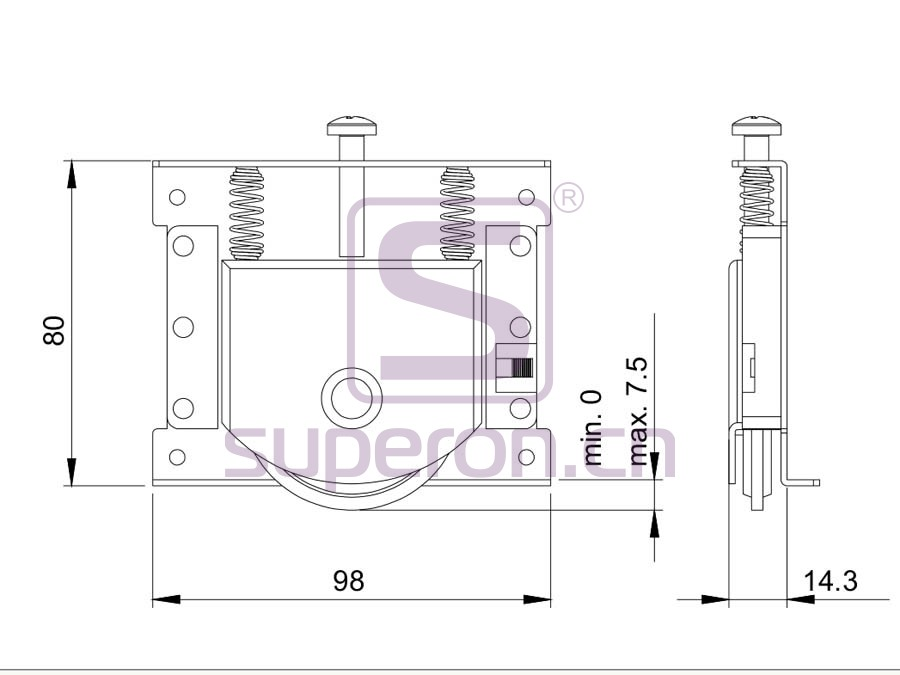 09-861-q | Roller system