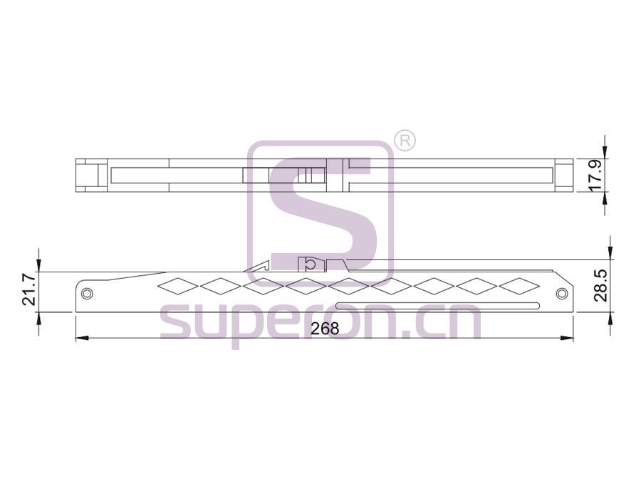 09-910-q | Soft closer for sliding doors