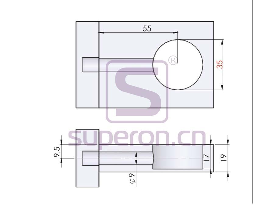 10-223-q | Cam fitting, D=35mm