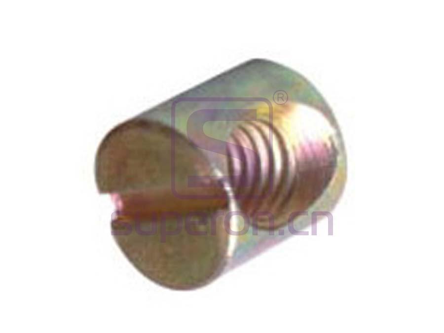 10-314_2 | Barrel nut, slot, steel