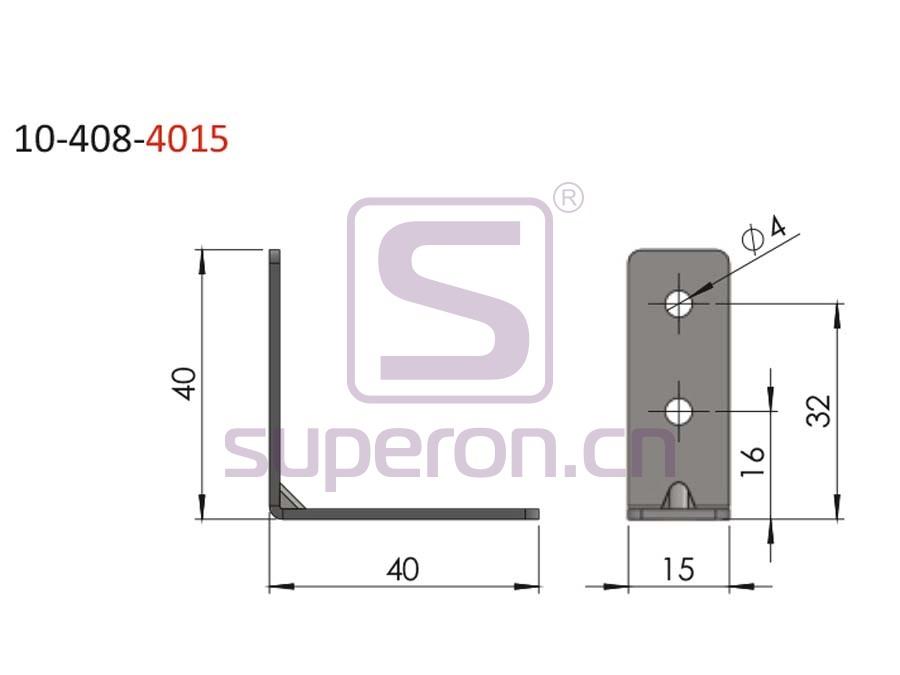 10-408-4015-q | Connecting corner