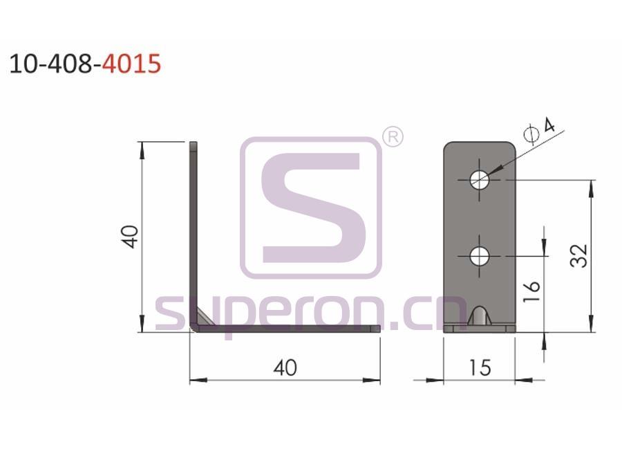 10-408-4015 | Connecting corner