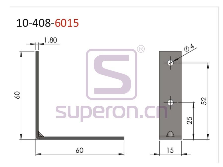 10-408-6015-q | Connecting corner