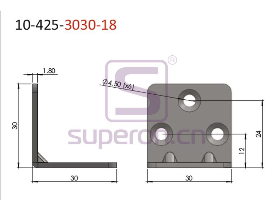 10-425-3030-18-q | Corner for furniture