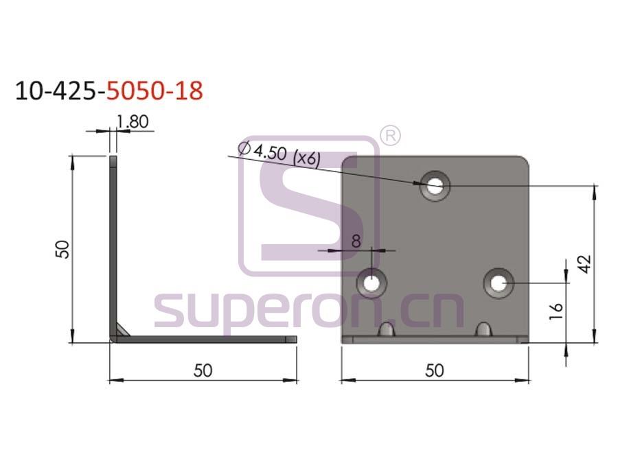 10-425-5050-18-q | Corner for furniture