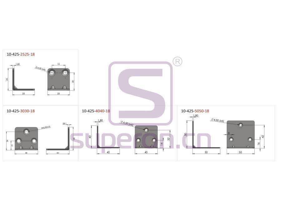 10-425-q | Corner for furniture