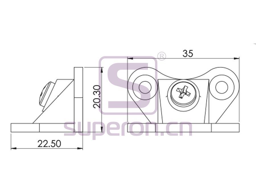 10-469-q | Corner for furniture