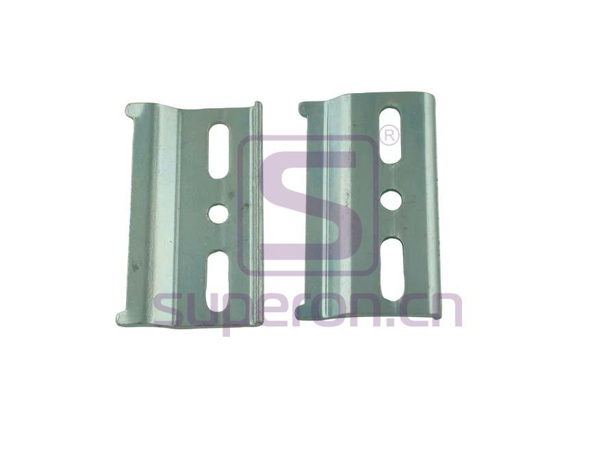 10-500-xxx | Cabinet hidden suspension bracket
