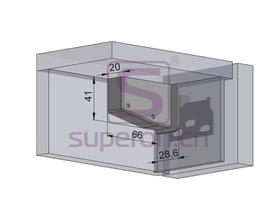 10-544-q | Adjustable cabinet hanger