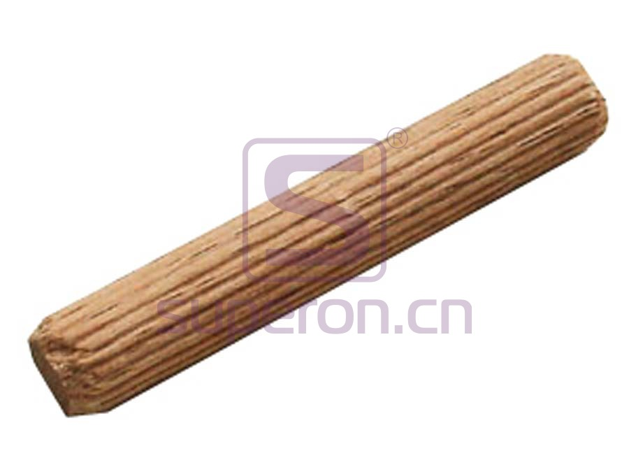 10-800-4 | Wooden stick, horizontal grooves
